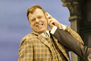 One Man, Two Guvnors. Francis Henshall. Rufus Hound.
