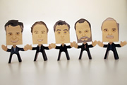 Monty Python as Paper People