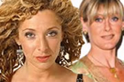 Image shows from L to R: Tracy-Ann Oberman, Sarah Lancashire.