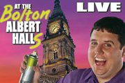Peter Kay Live At The Bolton Albert Halls. Peter Kay. Copyright: Phil McIntyre Entertainment.