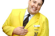 Peter Kay Live At The Manchester Arena. Peter Kay. Copyright: Phil McIntyre Entertainment / Goodnight Vienna Productions.