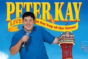 Peter Kay Live At The Top Of The Tower. Peter Kay. Copyright: Phil McIntyre Entertainment.
