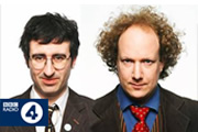 Political Animal. Image shows from L to R: John Oliver, Andy Zaltzman. Copyright: Avalon Television / BBC.