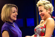 Powder Room. Image shows from L to R: Sam (Sheridan Smith), Chanel (Jaime Winstone). Image credit: DJ Films.