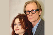 Private Lives. Image shows from L to R: Amanda (Helena Bonham Carter), Elyot (Bill Nighy). Copyright: BBC.