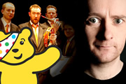 Radio 2 Comedy Spectacular For Children In Need. Image shows from L to R: Alex Horne, Jason Cook. Copyright: BBC.