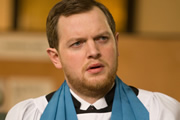 Rev.. Nigel McCall (Miles Jupp). Copyright: Big Talk Productions.