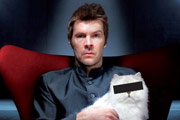 Rhod Gilbert And The Cat That Looked Like Nicholas Lyndhurst. Rhod Gilbert.