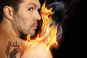Rhod Gilbert Live: The Man With The Flaming Battenberg Tattoo. Rhod Gilbert.