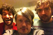 Image shows from L to R: Dan Antopolski, Richard Herring, Nick Helm.
