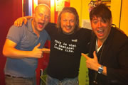Richard Herring's Edinburgh Fringe Podcast 2012. Image shows from L to R: Marek Larwood, Richard Herring, Doug Segal.