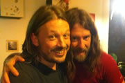 Richard Herring's Edinburgh Fringe Podcast 2012. Image shows from L to R: Richard Herring, Craig Campbell.