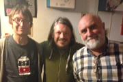 Richard Herring's Edinburgh Fringe Podcast 2013. Image shows from L to R: David Kay, Richard Herring, Alexei Sayle.