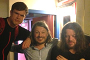 Richard Herring's Edinburgh Fringe Podcast 2013. Image shows from L to R: Ed Gamble, Richard Herring, Ian Boldsworth.
