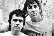 Image shows from L to R: Dudley Moore, Peter Cook.