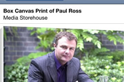 Richard Herring's Leicester Square Theatre Podcast - Picture of the Paul Ross box canvas print.