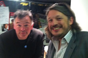 Richard Herring's Leicester Square Theatre Podcast. Image shows from L to R: Stewart Lee, Richard Herring.