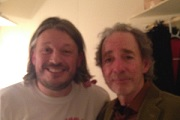 Richard Herring's Leicester Square Theatre Podcast. Image shows from L to R: Richard Herring, Harry Shearer.