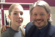 Image shows from L to R: Katherine Ryan, Richard Herring.