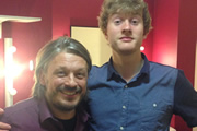 Image shows from L to R: Richard Herring, James Acaster.
