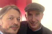 Richard Herring's Leicester Square Theatre Podcast. Image shows from L to R: Richard Herring, Steve Coogan.