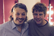 Image shows from L to R: Richard Herring, Josh Widdicombe.