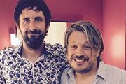 Image shows from L to R: Mark Watson, Richard Herring.