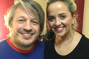 Richard Herring's Leicester Square Theatre Podcast. Image shows from L to R: Richard Herring, Luisa Omielan.