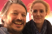 Richard Herring's Leicester Square Theatre Podcast. Image shows from L to R: Richard Herring, Sarah Kendall.