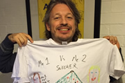 Richard Herring Me1 Versus Me2 Snooker. Richard Herring.