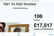 Richard Herring - Me1 versus Me2 Snooker.