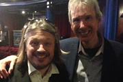 Richard Herring's Meaning Of Life. Image shows from L to R: Richard Herring, Lance Workman.