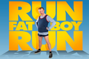 Run, Fatboy, Run. Dennis Doyle (Simon Pegg). Image credit: Material Entertainment.