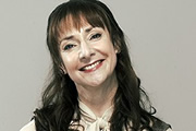 Shameless. Libby Croker (Pauline McLynn). Copyright: Company Pictures.