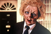 Margaret Thatcher puppet. Copyright: Central Independent Television.