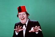 Spoon, Jar, Jar, Spoon. Tommy Cooper. Copyright: Sugar Productions.