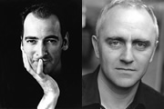 Image shows from L to R: Alistair McGowan, Dave Lamb.