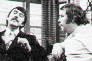 Sprout. Image shows from L to R: Darwin Sprout (John Alderton), John Russell (Julian Holloway). Copyright: Thames Television.