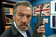 Spy. The Examiner (Robert Lindsay). Copyright: Hat Trick Productions.