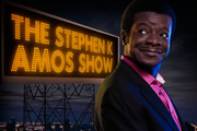The Stephen K Amos Show. Stephen K Amos. Image credit: British Broadcasting Corporation.