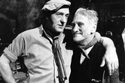 Image shows from L to R: Harry H. Corbett, Wilfrid Brambell.