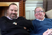 Still Game: The Story So Far. Image shows from L to R: Greg Hemphill, Ford Kiernan.