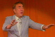 Superfrank. Frankie Howerd. Copyright: Harlech TV.