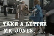 Take A Letter Mr. Jones.... Image credit: Southern Television.