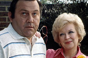 Terry & June. Image shows from L to R: Terry Medford (Terry Scott), June Medford (June Whitfield). Image credit: British Broadcasting Corporation.