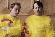 That Mitchell And Webb Look. Image shows from L to R: Robert Webb, David Mitchell. Copyright: BBC.