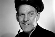 The Big Blockade. Skipper (Will Hay). Copyright: Ealing Studios.