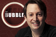 The Bubble. David Mitchell. Copyright: Hat Trick Productions.