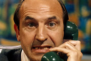 The Fall And Rise Of Reginald Perrin. Reginald Perrin (Leonard Rossiter). Image credit: British Broadcasting Corporation.