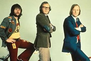 Image shows from L to R: Bill Oddie, Graeme Garden, Tim Brooke-Taylor.